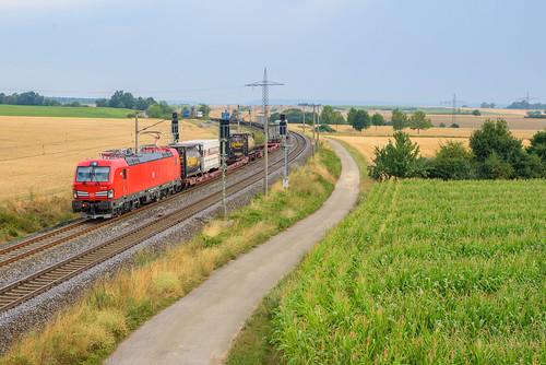 DBC 193 355 met KLV trein, Gallmersgarten