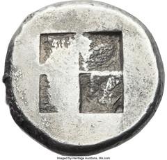 Macedon Acanthus Tetradrachm reverse