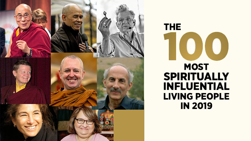 8 Tokoh Buddhis dalam daftar 00 Most Spiritually Influential Living People.