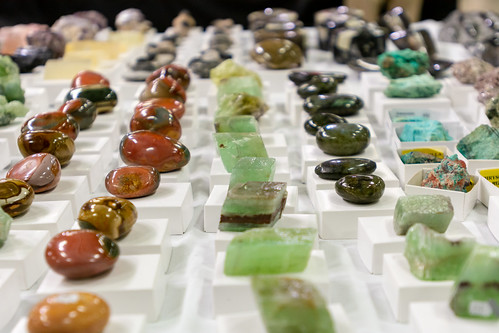 Gem and Mineral Show Display