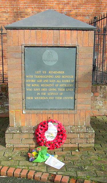Royal Regiment of Artillery Memorial, Oswestry