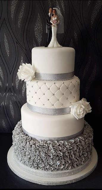 Wedding Cake from Michelle Fawcett of Cakes By Design Yorkshire