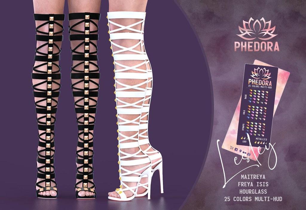 "Phedora. for Kustom9 – ""Lesley"" gladiator heels♥"