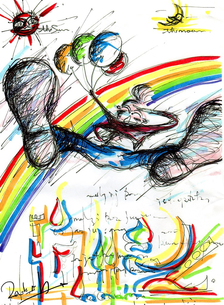 Rainbow Children 1000X1361px(300ppi)