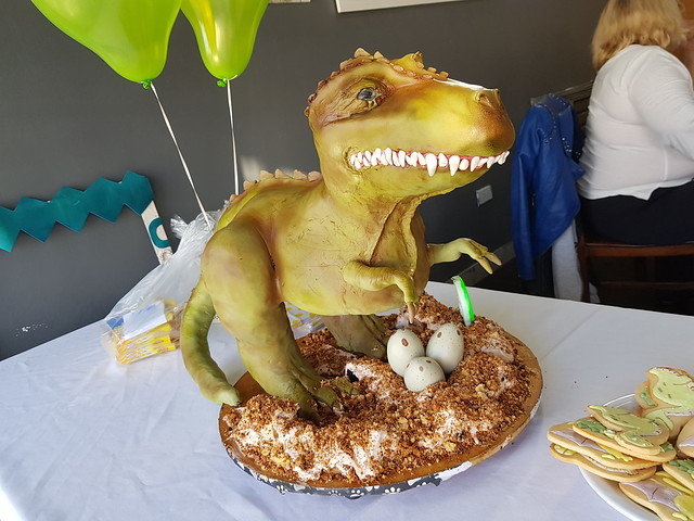 Dino Cake by Paola Toledo Lagrost