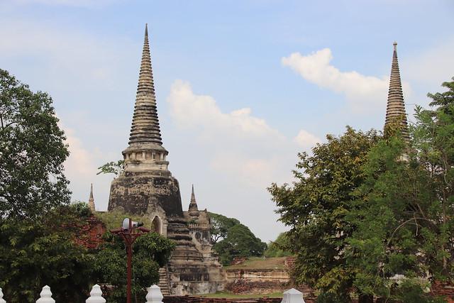 Ayutthaya Wat Phra Si, Canon EOS 800D, Sigma 18-200mm f/3.5-6.3 DC OS HSM [II]