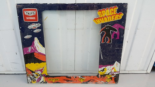 Have An Inquiring Mind Taito Chase H.q Replacement Parts Arcade Glass Bezel