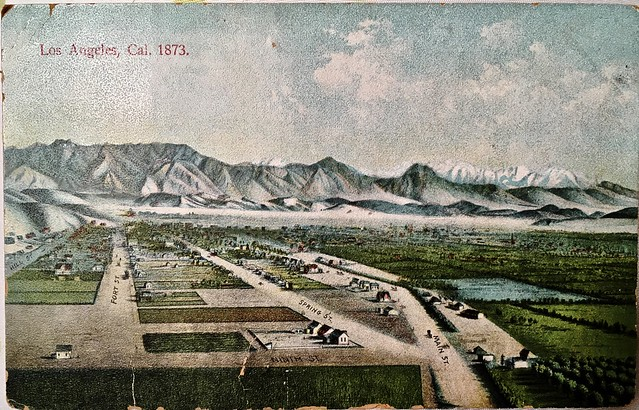 Los Angeles in 1873