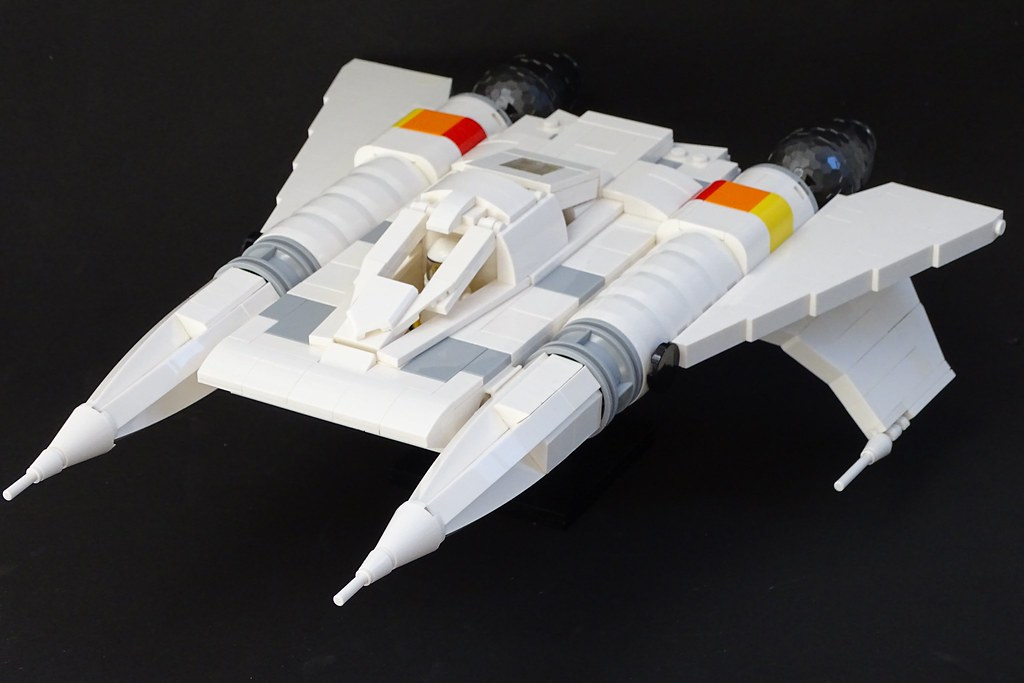 Buck Rogers Thunderfighter LEGO Model