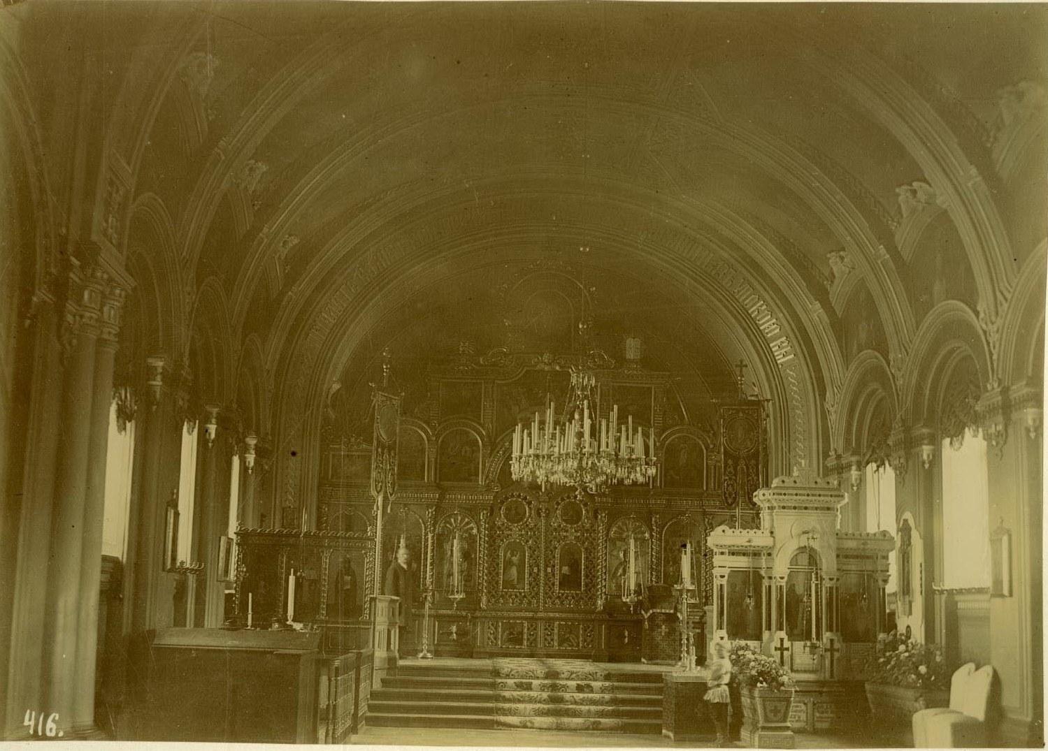 28. Внутренний вид церкви Тихвинской иконы Божией Матери
