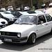 White VW Golf Mk2
