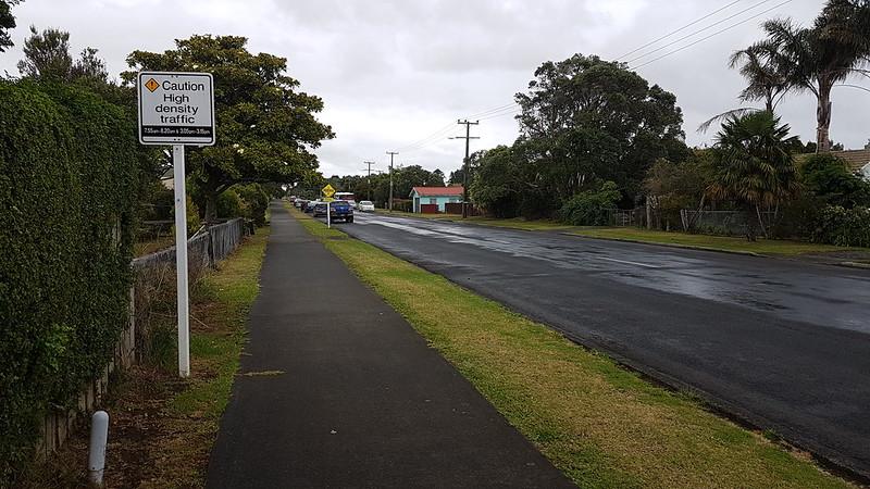 High Density Traffic warning in Okaihau!