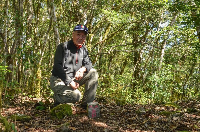 江坡古山森林三角點 1