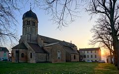 Romanesque sunset