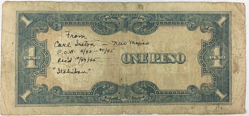 Carl Ireton One Peso signed obverse