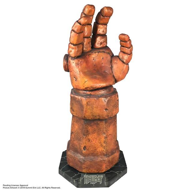 開啟世界末日的神器!! Chronicle Collectibles《地獄怪客:血后的崛起》毀滅右腕 The Right Hand of Doom 1:1 比例道具複製品
