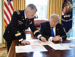 RT @Scavino45: After declaring a national emergency, President @realDonaldTrump is briefed by U.S. Army Chief of Engineers, Commanding General Ltg. Todd T. Semonite on the status to date of the border wall - and all future construction, to begin along the