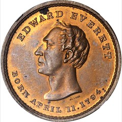 Merriam Everett-Bell Medalette obverse