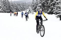 Českými šampiony v zimním triatlonu Kočař a Brychtová