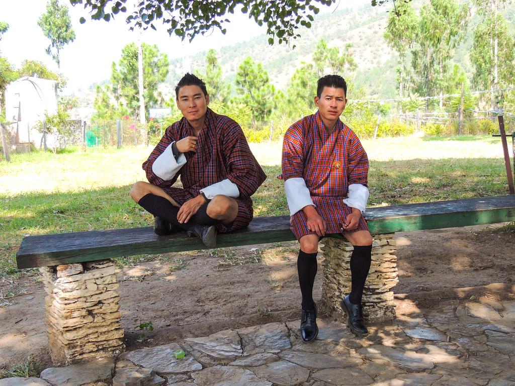 Gente de Bután