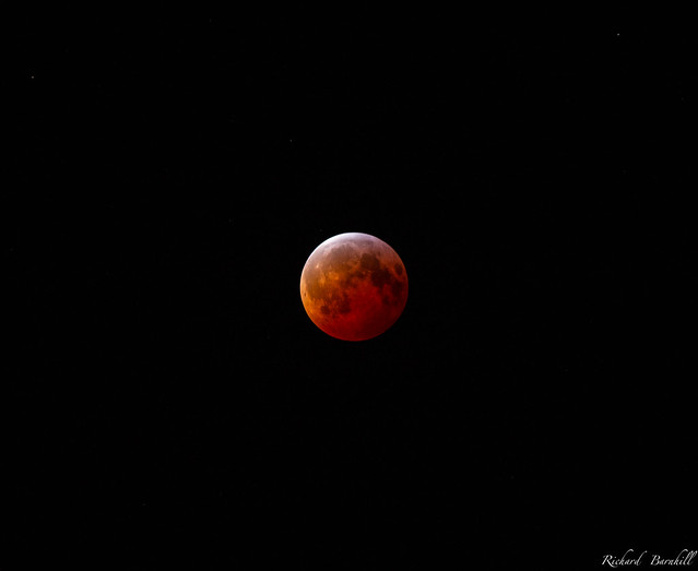 Lunar Eclipse Totality [Explore], Canon EOS 70D, Canon EF-S 55-250mm f/4-5.6 IS II