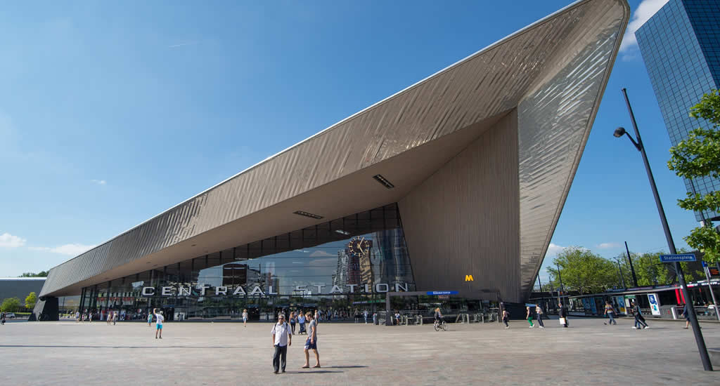Architecture in Rotterdam, Rotterdam Central Station | Your Dutch Guide