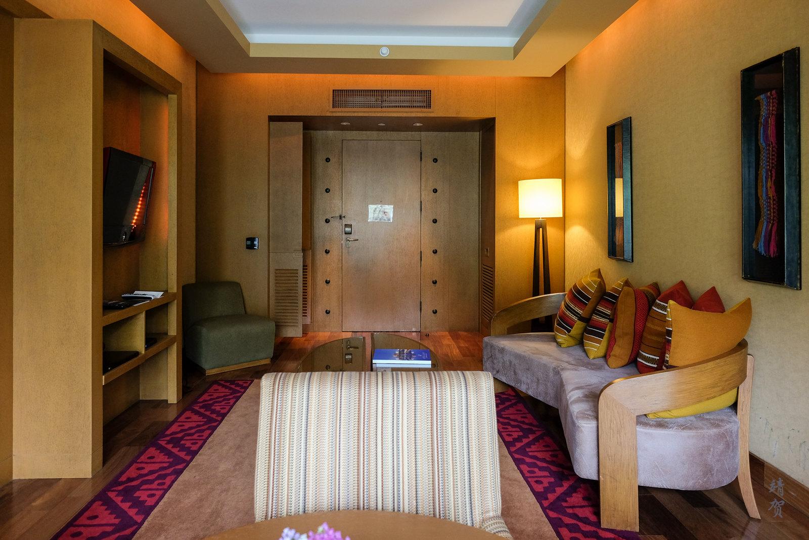 Junior suite living space
