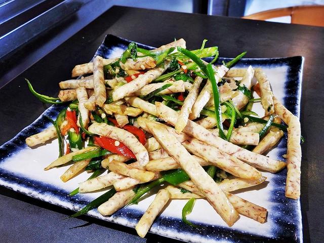 Wok Fried Fragrant Yam Sticks