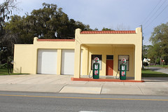 Gas Station with Pumps