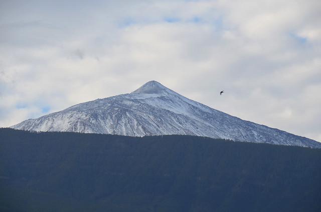 High cloud above Teide, Tenerife