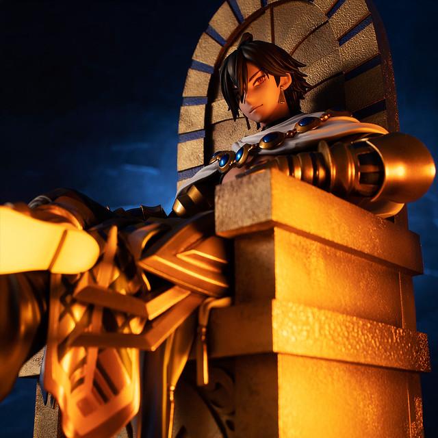 地之上法老無所不能,萬物眾生皆在余之手 MEGAHOUSE《Fate/Grand Order》Rider/奧茲曼迪亞斯(ライダー/オジマンディアス)1/8比例模型