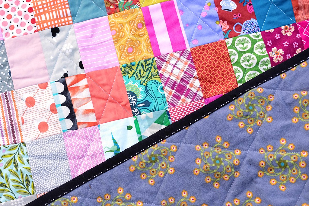 All the Rectangles Scrap Quilt - Kitchen Table Quilting