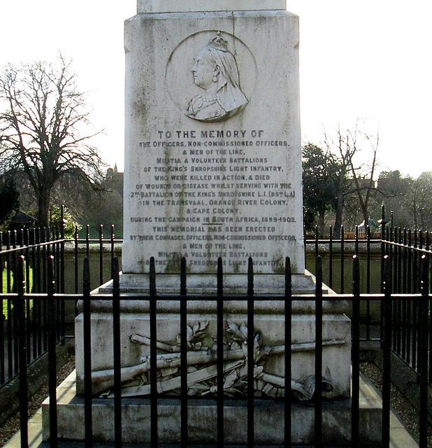 Shrewsbury Boer War Memorial Dedicatio