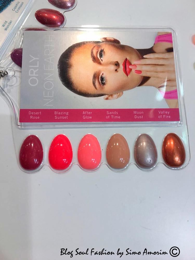 O set de cores da linha de esmaltes de unhas Orly para a primavera verão 2019. Lindas