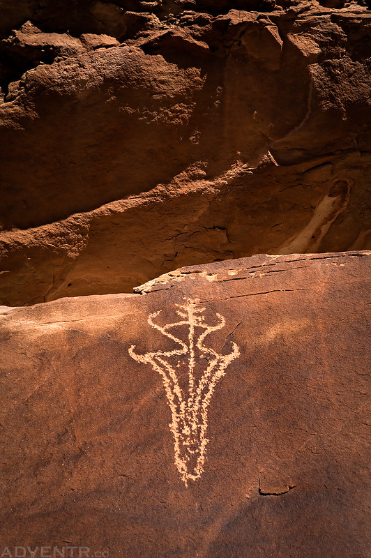 Lone Petroglyph