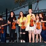 Alunos Curso de Violino FIC