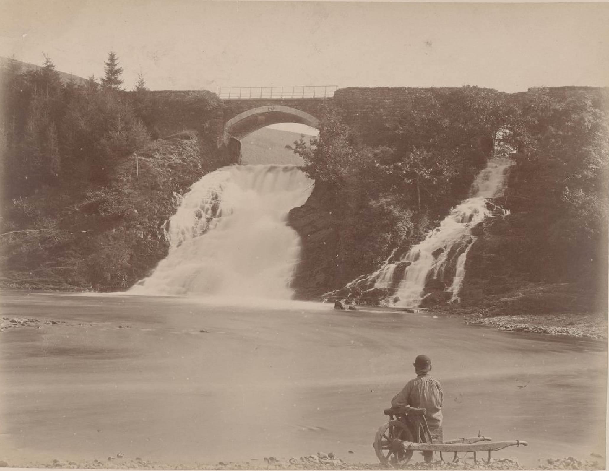 Бельгия. Окрестности Спа. Водопады Coo, 21 мая 1888 (2)