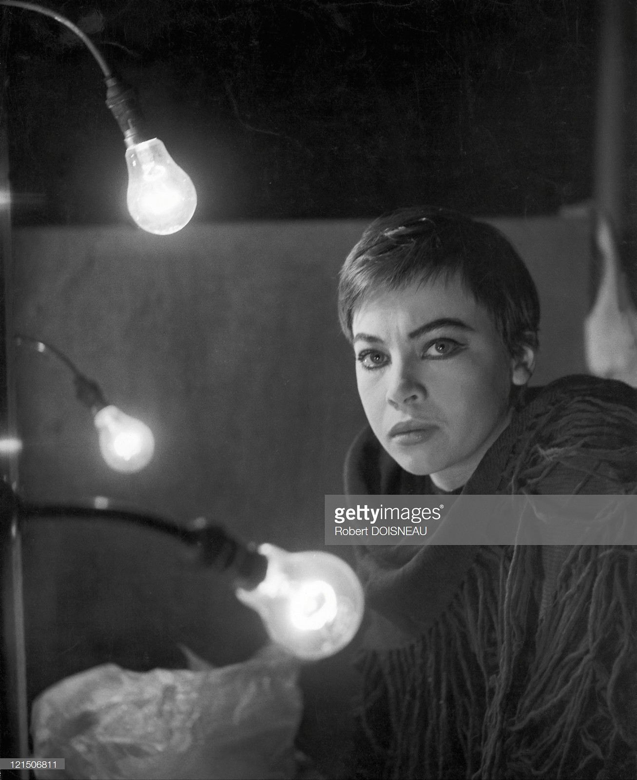 1950-е. Лесли Карон — французская артистка балета и актриса, дважды номинантка на премию «Оскар»
