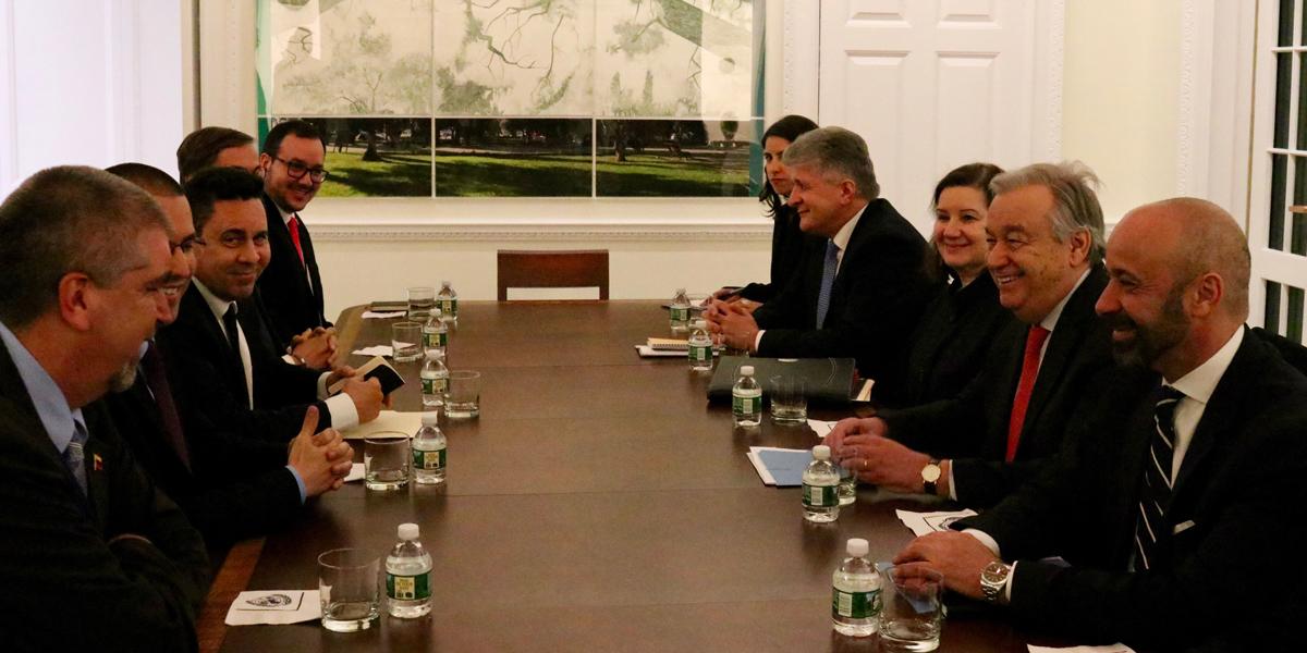 Venezuela fortalece cooperación con Naciones Unidas