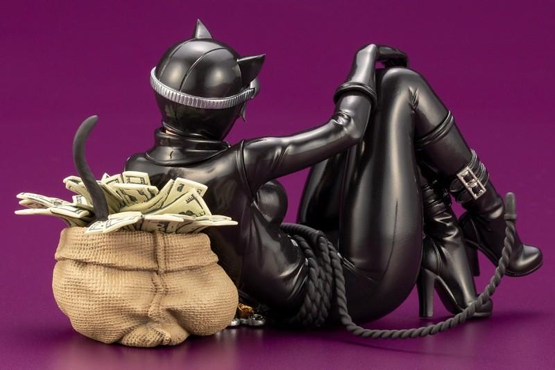還不快點獻出你的荷包!壽屋 DC COMICS美少女 系列【貓女 RETURNS】キャットウーマン リターンズ 1/7 比例PVC塗裝完成品