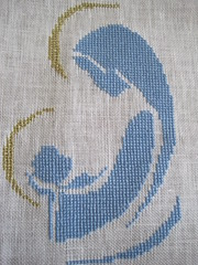 Madonna Cross Stitch