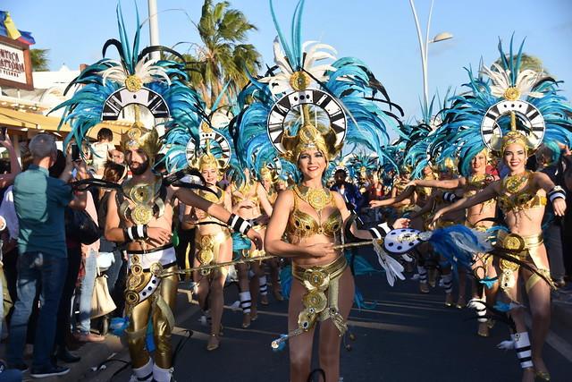 Coso de Carnaval de Puerto del Carmen (1)