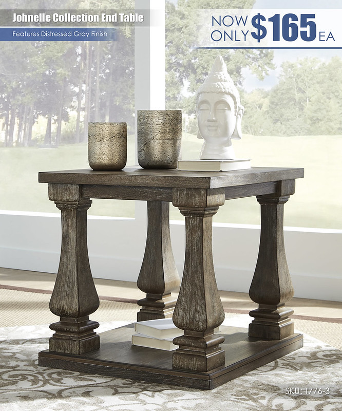 Johnelle Collection End Table_T776-3