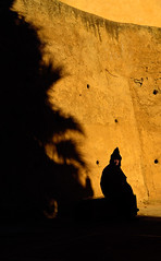 Marrakech Wall at Sunrise
