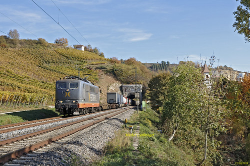 BR 162 001-Mabuse- Train Intermodal à Istein