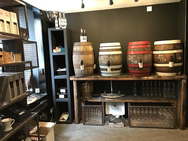 Cadenhead shop, Springbank distillery