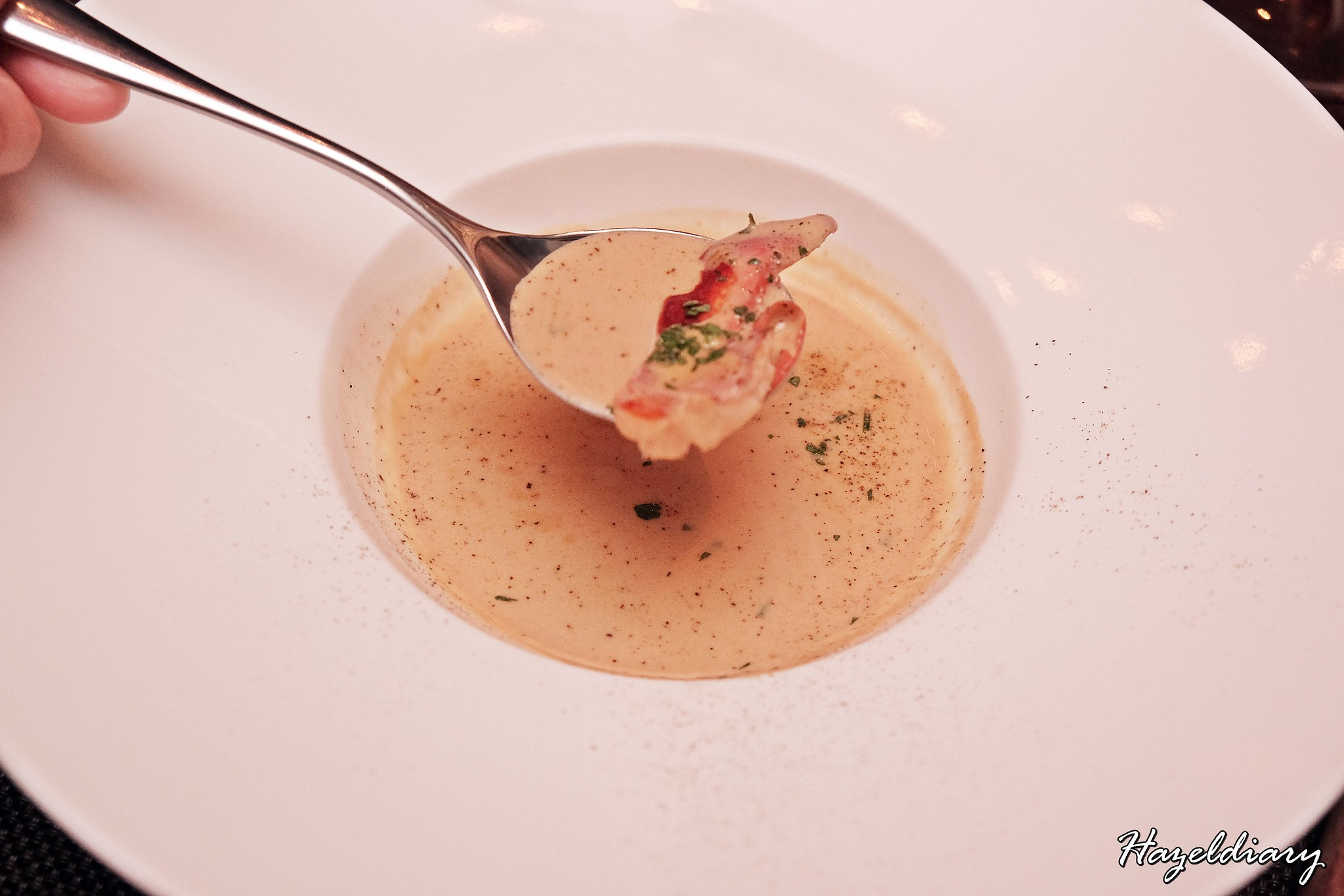 wooloomooloo steakhouse-lobster bisque