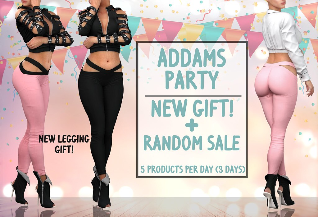 NEW GROUP GIFT AND ADDAMS FAVORITES SALE + GIVEAWAY!