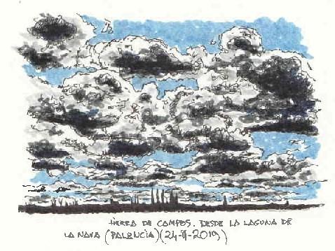 Cielos en la Tierra de Campos