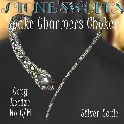 Snake Charmers Choker